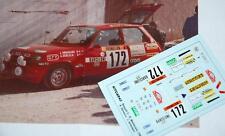 DECAL CALCA 1/43 RENAULT 5 COPA J. ARMADANS RALLY MONTE CARLO 1983