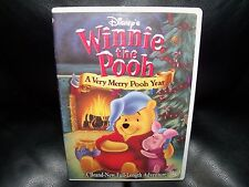 Winnie The Pooh A Very Merry Pooh Year Dvd Ebay