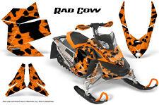 SKI-DOO REV XP SNOWMOBILE SLED GRAPHICS KIT WRAP DECALS CREATORX RAD COW O
