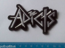 PUNK ROCK HEAVY METAL MUSIC SEW ON / IRON ON PATCH:- THE ADICTS (a) STRIPE