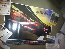 Dan Wheldon Signed Indianapolis 500 Poster 2005 Indy 500 Winner Car Autographed