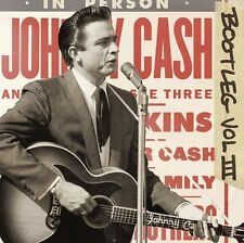 Vol. 3-Bootleg: Live Around The World - Johnny Cash (2011, CD NUOVO)