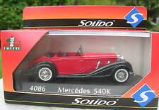 SOLIDO 1/43 METAL MERCEDES BENZ 540 K  4086!!!!!!!!!!!!