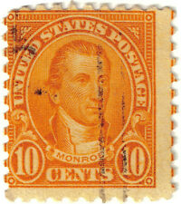 (USA79) 1922 10c orange Monroe ow610