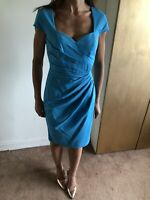Stunning Turquoise Lipsy London Wiggle Dress Size 8