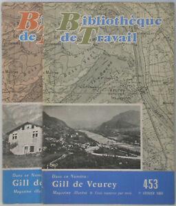 BT 453+493 Gill de Veurey - Tunnel sous le Mont Blanc Isère Castrum 2 livrets