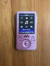 Reproductores de MP3 rosa con radio FM para MP3