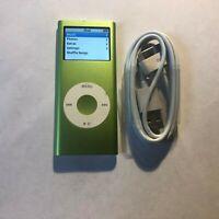Apple iPod nano 2nd Generation Green (4 GB) Bundle Great Condition