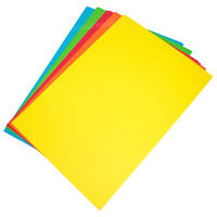 50 Mixed Colour A3 160gsm Craft Card Sheets Artists Blank Cardmaking Decoupage