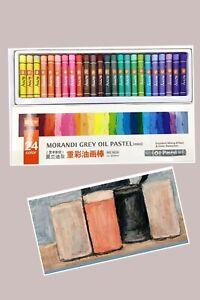 Professional Sunny Art Soft Oil Pastel/Morandi 24 Colors Painting Art Supplies