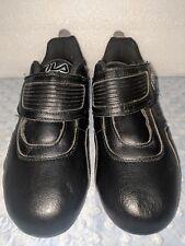 FILA SPORTS Men's FIRESTONE RACER Ankle-High Running Shoes Black 1SC60098-010 a1