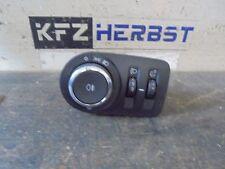 koplamp switch w / o mistlamp Opel Corsa E 13470443 1.2 51kW B12XER 162260
