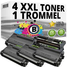 4x Toner + Tambour compatible Brother hl-l5000-d l5100dn l5200dw l6250dn l6300dw