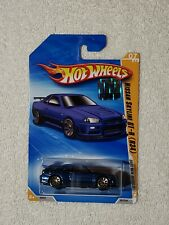 2010 HOT WHEELS NEW MODELS NISSAN SKYLINE GT-R(R34)  FROM FACTORY SEALED SET