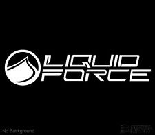 Liquid Force Wake Decal Wakeboard Vinyl Sticker Cars Windows Walls Any Colour