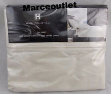 Hotel Collection 1000 Thread Count Supima Cotton QUEEN Flat Sheet Ivory