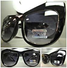 OVERSIZE HUGE XL VINTAGE RETRO PARTY Style SUN GLASSES Unique Black Silver Frame