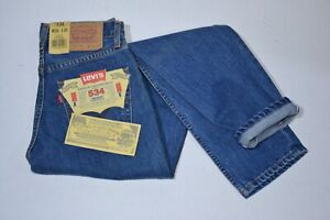 Jeans Levi's 534 scuro,vita alta vestibilità comoda regolare