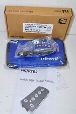 Nortel Avaya NTEX14MAE6 Mobile USB Headset Adapter IP Softphones