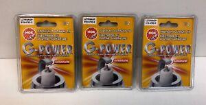 NGK G-Power Spark Plugs #3381 OEM Set LZTR5AGP 6 pcs