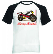YAMAHA RACING Kenny Roberts Ispirato-NUOVO Amazing Graphic T-Shirt S-M-L-XL - XXL
