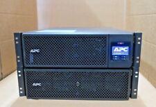 APC Smart-UPS SRT 5000VA RM 5kVA UPS 4500W SRT5KRMXLI + Add Runtime SRT192RMBP
