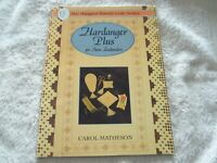 """Hardanger Plus For New Zealanders"" by Carol Matheson, Needlecraft Book"