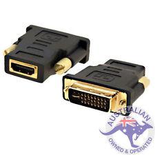 1 x DVI Male To HDMI Female Plug Converter Adapter for HDTV