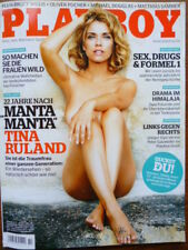 Playboy Magazin  2013/10, Tina Ruland vom Oktober 2013