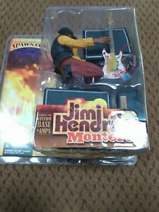 New Mcfarlane Toys Jimi Hendrix 2 at Monterey Figure