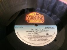 N-10-City ‎– Straight For Your Heart  - MARTRU  MIC MAC RECORDS   VINYL 12""