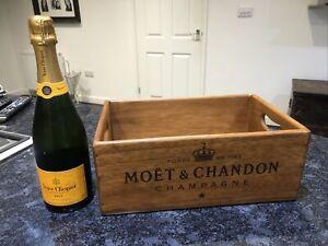 Moët Chandon Champagne Wooden Vintage Style Box 35cm