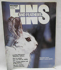Wisconsin Fins And Feathers Jan. 1976 Snowshoe Hares Winter's Swamp Ghosts
