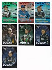 ^2003 Trackside VARIOUS INSERTS PICK LOT-YOU Pick any 2 of the 23 cards for $1!