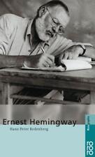 Ernest Hemingway von Hans-Peter Rodenberg (1999, Taschenbuch)