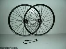 Coppia ruote mtb 26 - nere opache, a disco, a cassetta - disc 26 mtb wheels