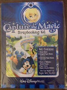 Walt Disney World Capture The Magic Scrapbooking Kit Magic Kingdom