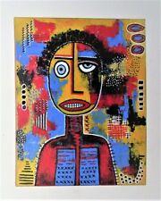 "Original Acrylic Painting Canvas Modern Pop Art Street Graffiti 16 x 20"" A.Davis"