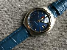 Vintage RADO Voyager Automatic Blue Dial Date, Gents Wrist  Watch, Swiss Made