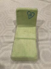 American Girl Just Like You green Fold Up flip out Lounge Chair couch - Retired