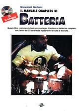 IL MANUALE COMPLETO DI BATTERIA. CON CD  GALLONI GIOVANNI POLO BOOKS 1991