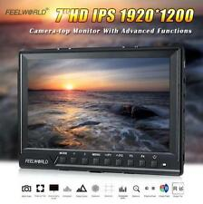 "Feelworld FW760 7"" IPS Ultra-HD 1920*1200 HDMl DSLR Camera Monitor Peaking Zoom"