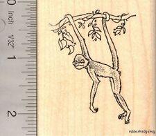 Spider Monkey Rubber Stamp   H13913 WM