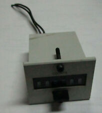 REDINGTON COUNTERS P8-4906  6-DIGIT 24VDC Used Cut Out   W3