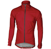 Castelli Emergency Rain and Wind Jacket RED. Brand NEW! Size L.
