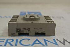 8501 NR51 Square D 10 amp 300v Relay Base 8501NR51  USED