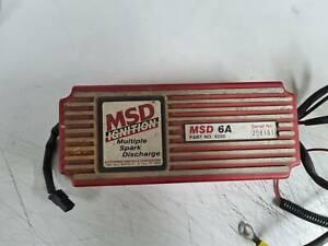 MSD 6A ignition, holden, ford, v8
