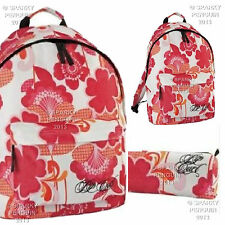 RIPCURL ROSE PINK BACKPACK + FREE BAG PENCIL CASE - RUCKSACK WOMENS GIRLS WHITE
