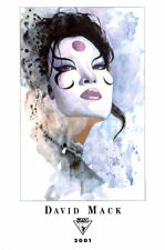 Lee's Comics DAVID MACK fine art print KABUKI, 2001