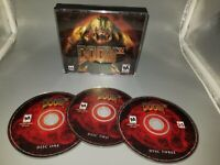 Doom 3 Video Game (PC, 2004) With Key TS Jewel Case